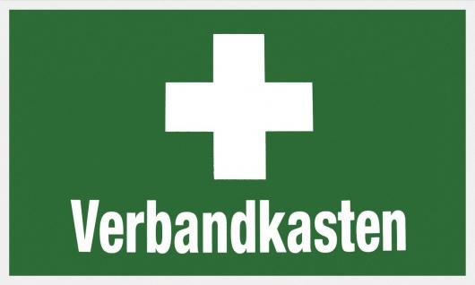 """METAFRANC SCHILD Hinweis-, Warn- und Verbotsschild ,, Verbandkasten"""" 503750 Verbandkasten"""
