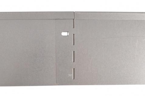 Bellissa Metall Rasenkante 118cm verzinkt Beetumrandung Beeteinfassung Mähkante - Vorschau 3