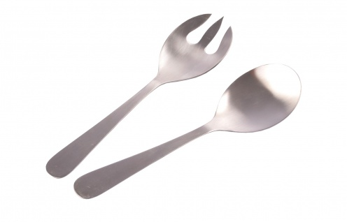 Edelstahl Salatbesteck Servierbesteck Salatlöffel Buffet Salat Besteck Löffel
