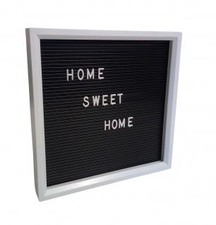 LED Stecktafel Memoboard Steckbrett Leuchtbox Reklametafel Buchstaben Zahlen