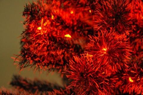20er LED Lichterkette Rot Weihnachtsbeleuchtung Partylicht Lichtschlauch Deko