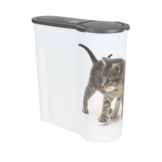 Katzen Futterdose 4L Aufbewahrungsdose Katzenfutter Trockenfutter Vorratsdose