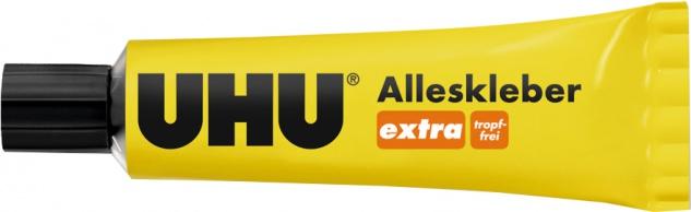 "UHU Alleskleber ,, extra"" 46015 Extra Tropffrei Tube 31 Gr"