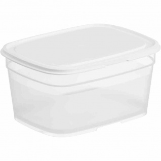 Lebensmittelbehälter rechteckig 1, 0 l
