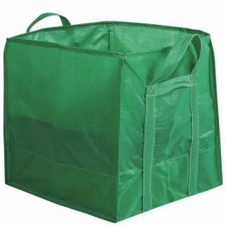 Schwerlast Gartentasche Traglast:100kg Laubsammler Kompostsack Müllsack Garten