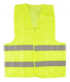 Warnweste Gr.L gelb EN471 Unfallweste Signalweste Sicherheitsweste Pannenweste