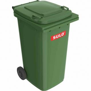 Kunststoff-Müllgroßbehälter grün 240 l