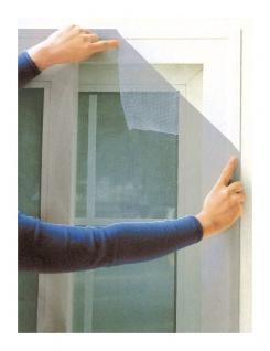 Fliegengitter weiß für Fenster 150x150cm Insektenschutz Insektennetz Gitter Netz