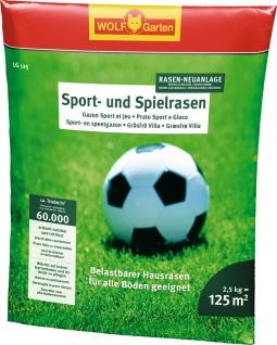 """Wolf WOLF Garten Sport- und Spielrasen ,, LG 125"""" 3825020 Rasensamen Fun Lg125 P336 - Vorschau"""