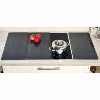 Glasschneideplatte Induktion 3Stk 50x26, 4cm Schneideplatten Küchenhelfer Kochen