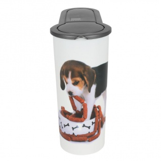 Hunde Futterdose 4L Aufbewahrungsdose Hundefutter Trockenfutter Vorratsdose - Vorschau 2