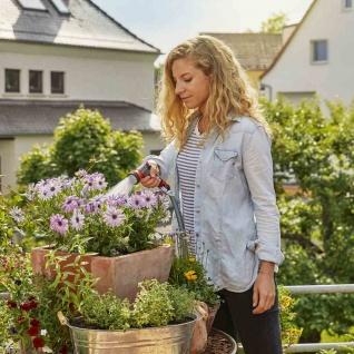 Balkon Brause Bewässerung Balkonpflanze Terrasse Garten Gießkanne Wasserschlauch