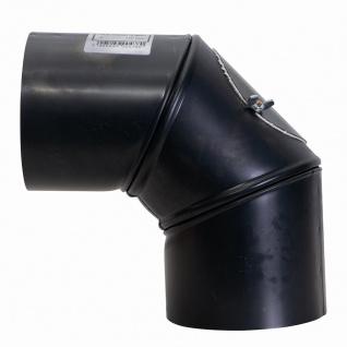 Uni-Knie 120mm Ofenrohr Rohr Rauchrohr Abgasrohr Kaminrohr Kaminzubehör TOP NEU