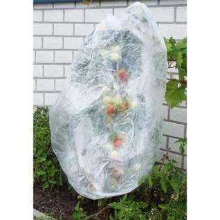 Grüner Jan Tomatenvlies 0, 8x9m Pflanzenvlies 17g/m² Pflanzenschutz Frostschutz