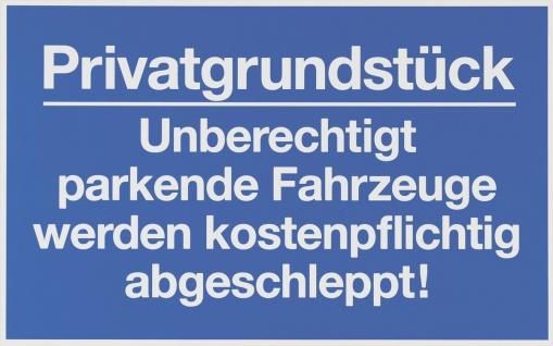 """METAFRANC SCHILD Hinweis-, Warn- und Verbotsschild ,, Privatgrundstück"""" 500510 Privatgrundstueck"""
