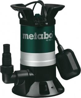 """metabo Schmutzwassertauchpumpe ,, PS 7500 S"""" 250750000 Schmutzpumpe Ps7500s"""