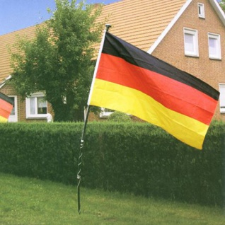 Deutschland-Fahne 150x90cm Fußballfahne Gartenfahne Balkonfahne Fanartikel