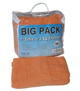 BIG Pack Handtuchset 7tlg. Frottee in diversen Farben - Vorschau 5