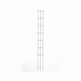 Gemüse-Rankturm Rankhilfe Pflanzenstütze Rankgitter Rankgestell grün 202 cm