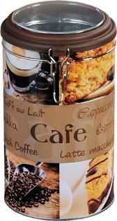 Kaffeedose 500 g Aufbewahrung Büchse Vorratsbehälter Küchenhelfer Vorratsdose