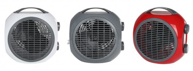 Mini Heizlüfter 2 Heizstufen Heizgerät Ventilator Elektroheizer Elektroheizung