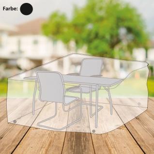 Abdeckhaube anthrazit für Sitzgruppe Schutzhülle Schutzhaube 170x150x95cm