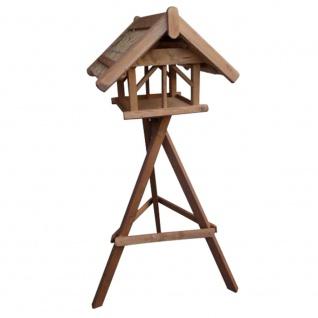 Vogelhaus Nr. 41 60x70x50cm Reetdach Vogelhäuser Vogelfutterhaus Garten Terrasse