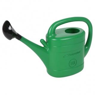 Gießkanne 10Liter mit Gießer grün Wasserkanne Blumenkanne Gartenkanne Kanne