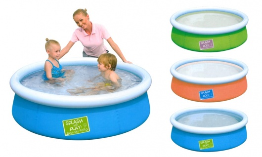 Kinder Pool 152cm Swimmingpool Schwimmbecken Planschbecken Fast-Set Gartenpool