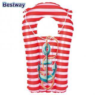 Bestway Kinder Strandset 3 tlg. Strandspielzeug Wasserball Schwimmring Matratze - Vorschau 5