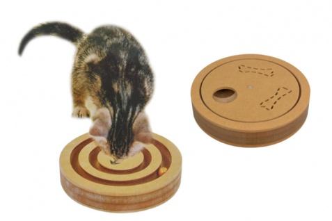Holzschnecke Katzenspielzeug Hundespielzeug Beschäftigungsspielzeug Spielbrett