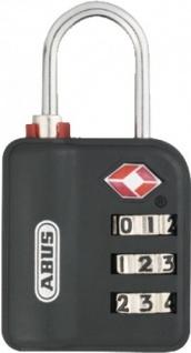 """ABUS Kombinationsschloss ,, TSA"""" 53093 Reise-hangschloss Buegel 147tsa"""