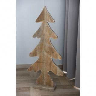 Holz-Weihnachtsbaum 85x40, 5x12cm Tannenbaum Weihnachtsdeko Dekotanne Tischdeko