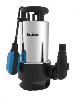 Güde Schmutzwassertauchpumpe GS 1103 PI Gartenpumpe Schwimmschalter Pumpe