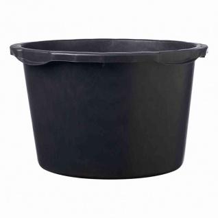Mörtelkübel 65 L schwarz mit Literskala