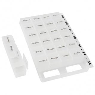 7 Tage Pillenbox Medikamentenbox Tablettenbox Pillendose Wochenbox Spender Dose