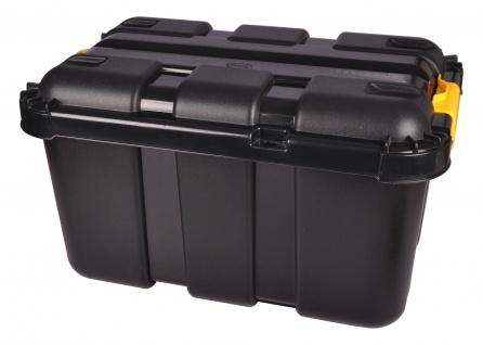 Werkstattbox mit Rollen 50 Liter Rollenbox Stapelbox Lagerbox Aufbewahrungsbox