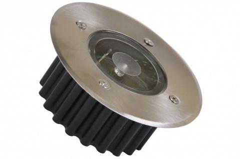 LED Solar-Bodeneinbauleuchte Bodenstrahler Bodeneinbaustrahler Solarlampen Licht - Vorschau 2