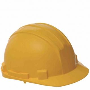 Schutzhelm gelb Arbeitsschutzhelm Helm Helme Arbeitsschutz Sicherheitshelme NEU