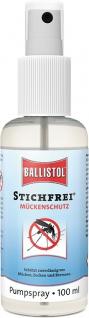 """BALLISTOL Mückenschutzspray ,, Stichfrei®"""" 26800 Stichfrei Pump-spray 100ml"""