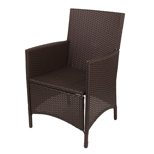 Korbsessel Hularo braun Stuhl Stuhl Stuhl Sessel Gartenmöbel Rattanstuhl Gartensessel baf10d