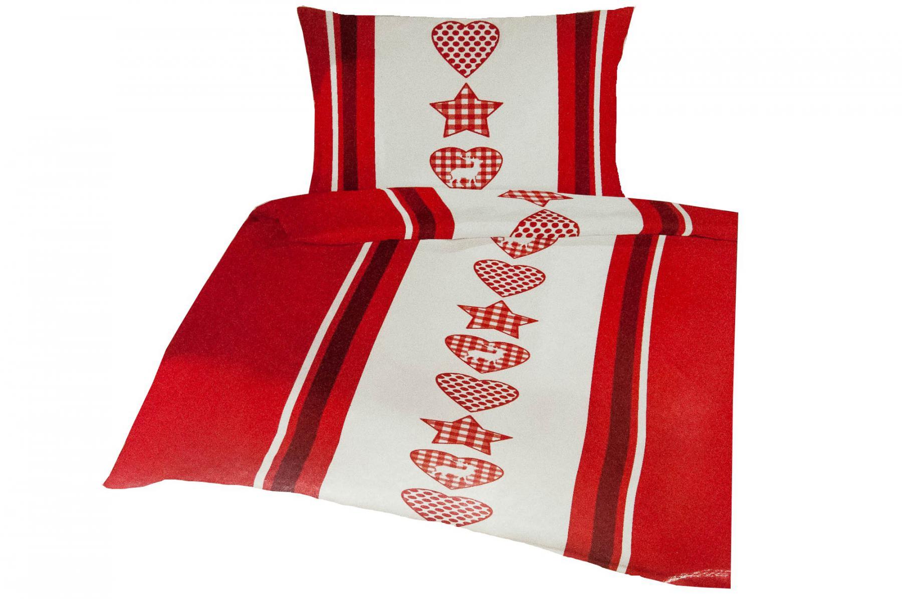 bettw sche weihnachten mikrofleece garnitur 135 x 200 cm bettwaren bettbezug kaufen bei. Black Bedroom Furniture Sets. Home Design Ideas
