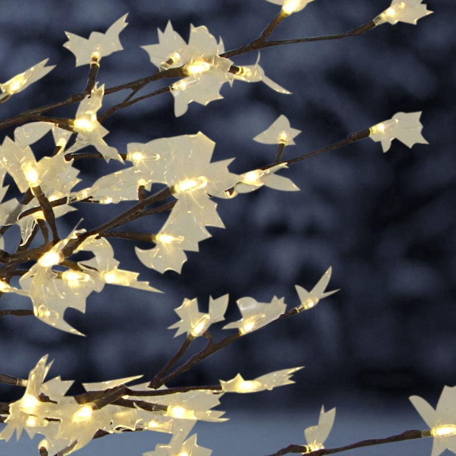 solar steckbaum ahorn mit 128 led beleuchtung deko baum garten winterdeko kaufen bei. Black Bedroom Furniture Sets. Home Design Ideas