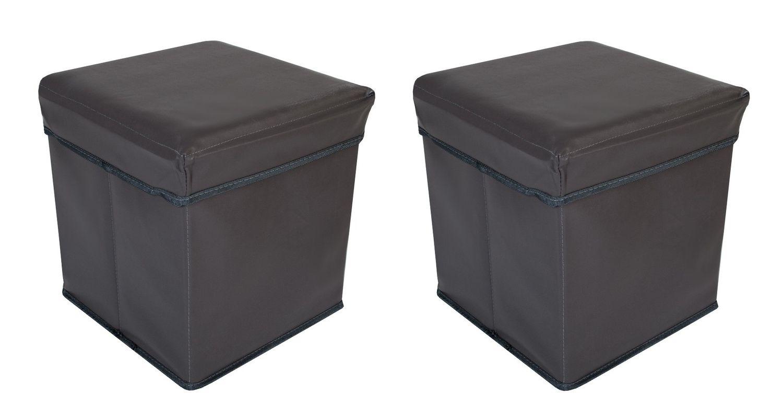 Faltbarer sitzwürfel aufbewahrungsbox sitzhocker sitzbank truhe