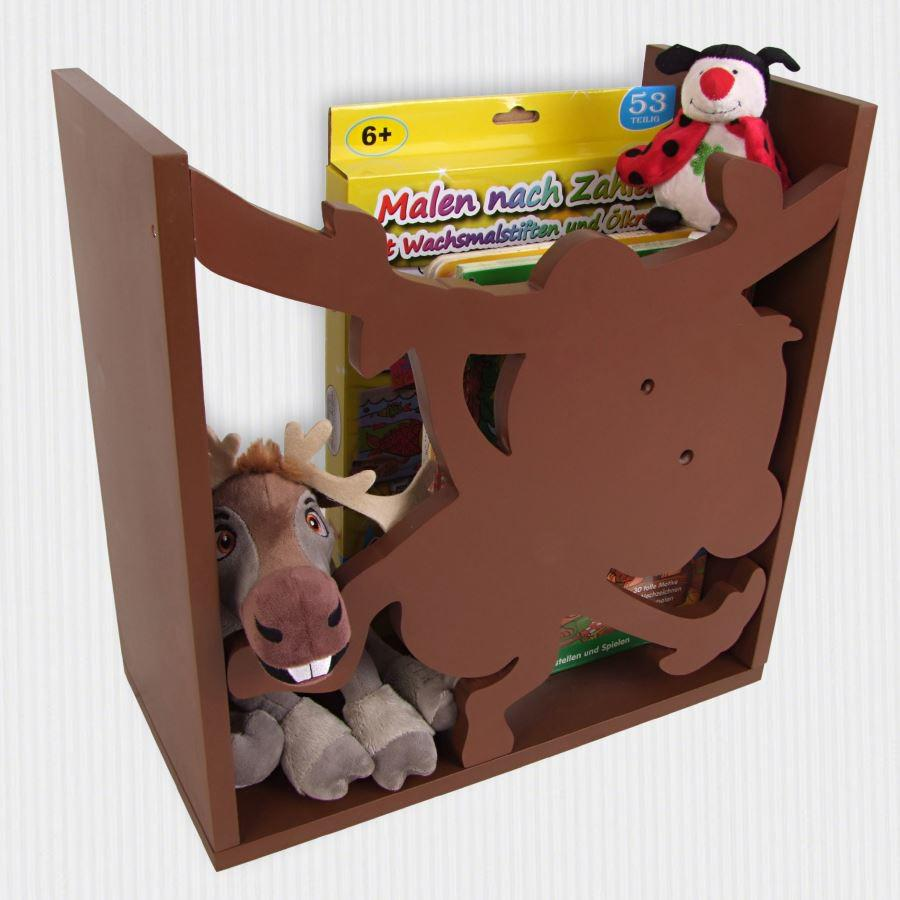 kinderregal affe spielzeugregal wandregal regal kinderzimmer aufbewahrung b cher kaufen bei. Black Bedroom Furniture Sets. Home Design Ideas