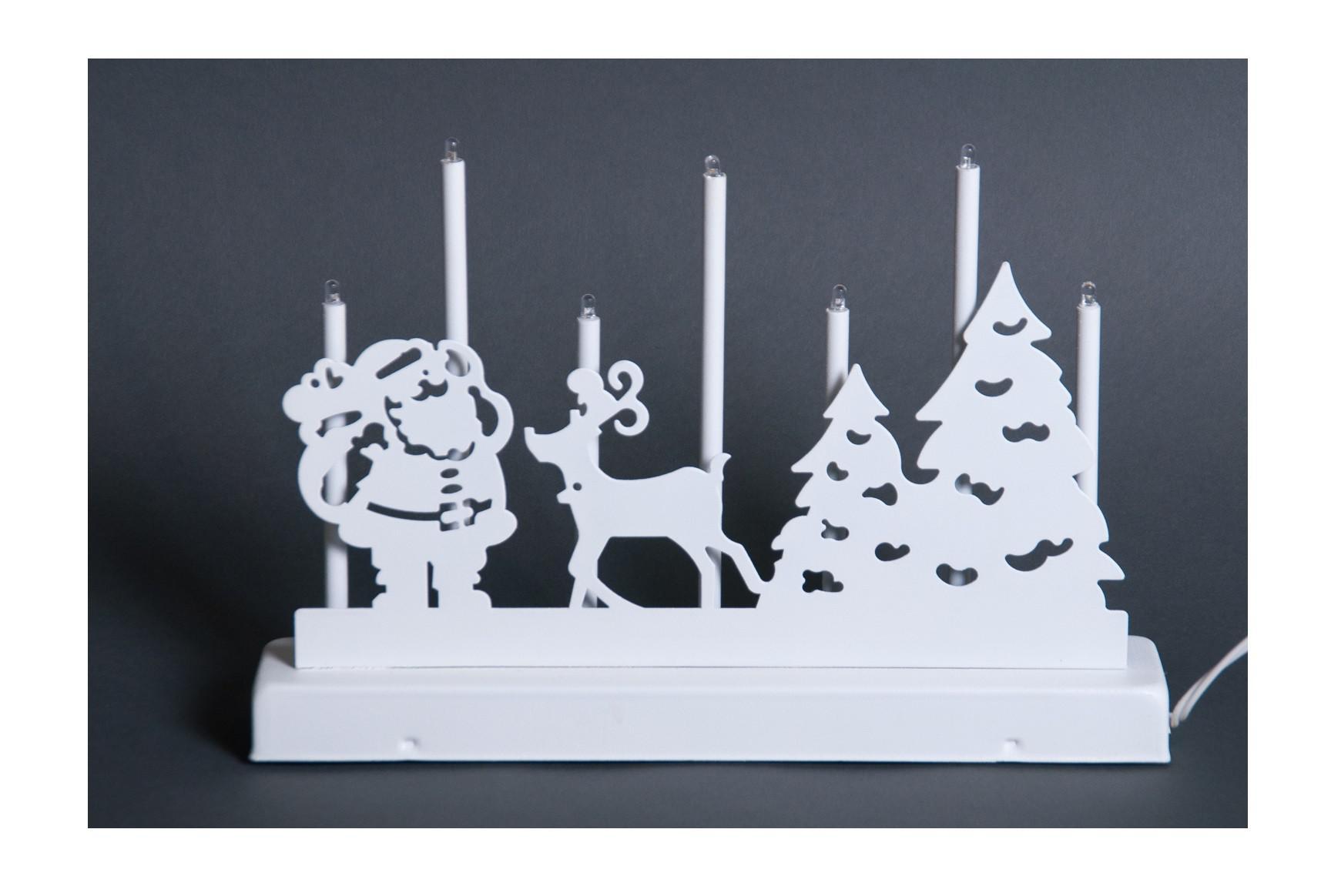 Weihnachtsdeko aus Metall Lichterbogen Fensterdeko - Kaufen bei www ...