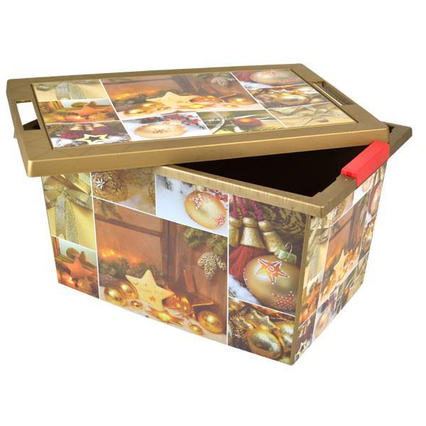 weihnachts aufbewahrungsbox christbaumkugeln weihnachtsdeko kiste rollenbox kaufen bei. Black Bedroom Furniture Sets. Home Design Ideas