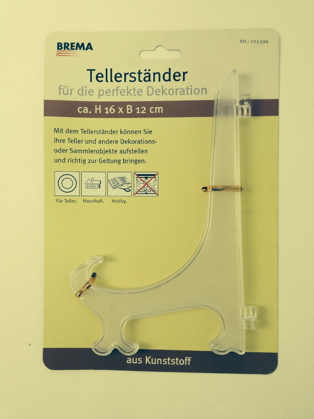 Brema Tellerstaender Tellerständer 123594 Kunst16cm Kaufen Bei