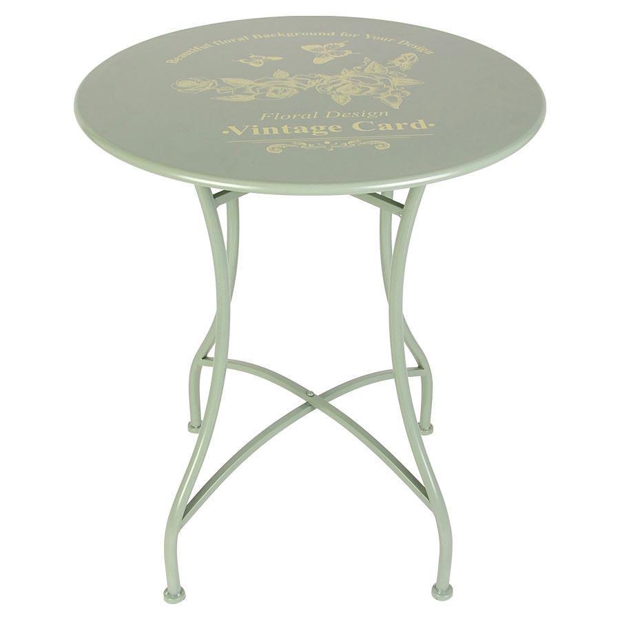 Balkontisch metall  Vintage-Tisch Romantika Beistelltisch Balkontisch Gartentisch ...