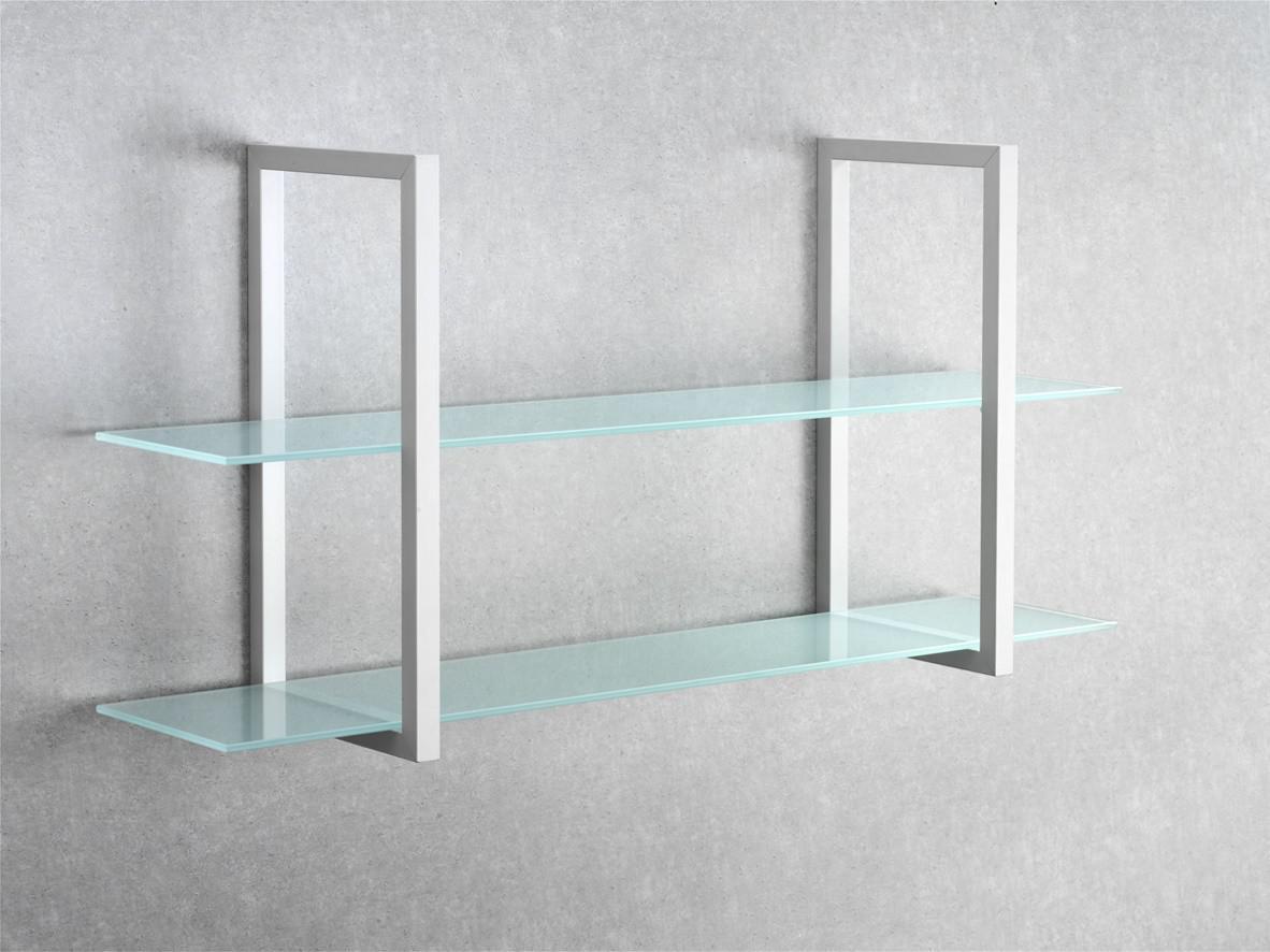 100 Glasregal Bad Glasregal Badezimmer Edelstahl Geburstet